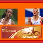Inauguración del mundial de atletismo Beijing 2015