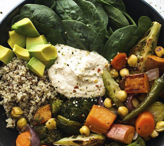 fuentes de proteína para veganos portada
