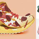 Pizza y otras genialidades en los tenis de Adidas