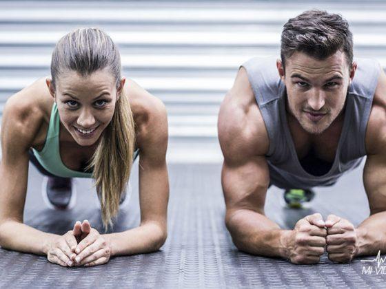 cómo ganar masa muscular pareja