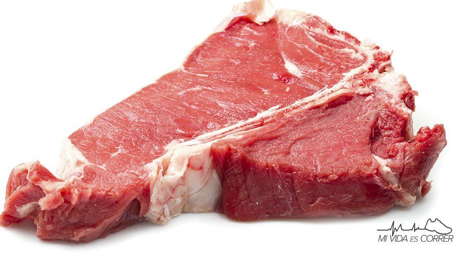 alimentos con hierro carne roja