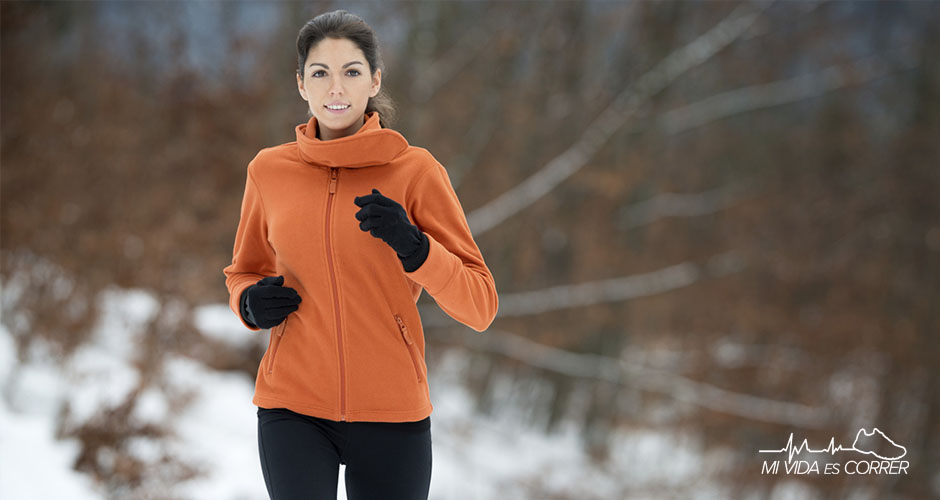 guantes para correr en invierno