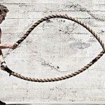 Ejercicios con cuerdas para acelerar el metabolismo del runner