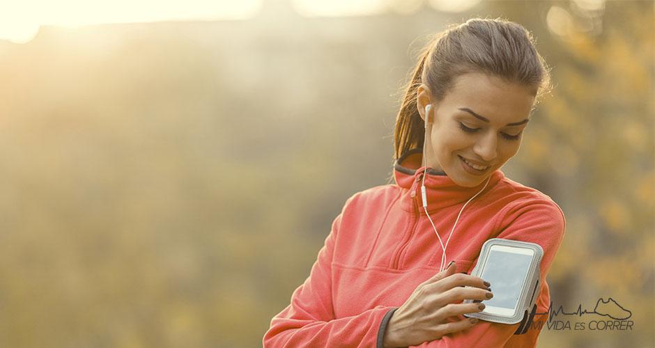 ¿Está bien escuchar música mientras corres?