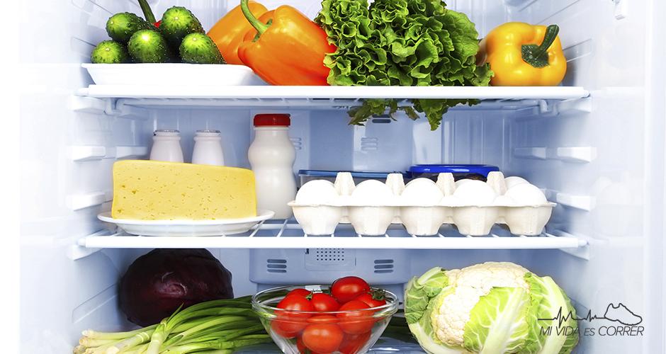Alimentos que todo runner debe de tener en su refrigerador